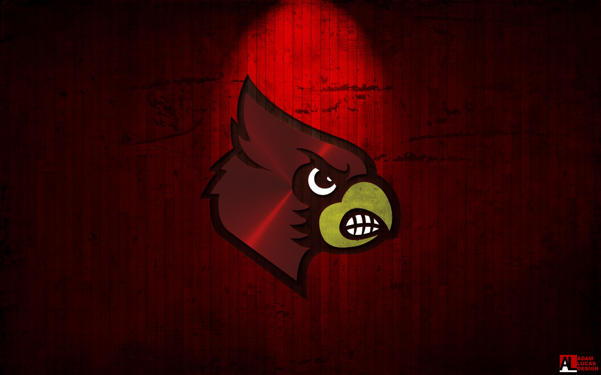 Louisville Cardinal Desktop Wallpaper