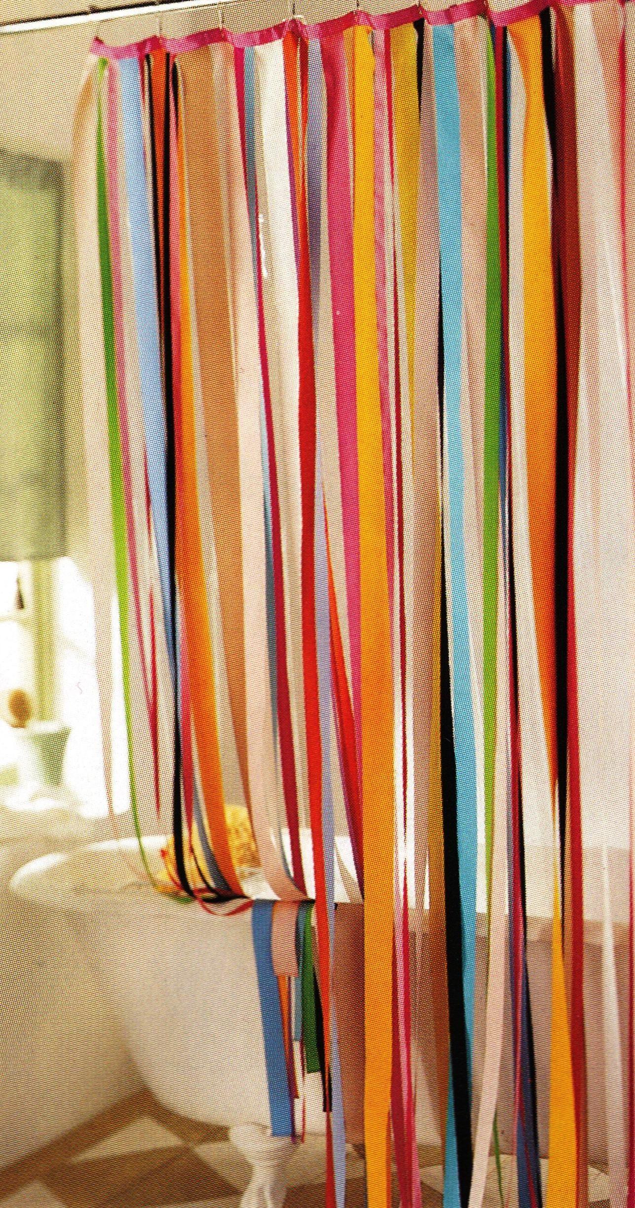 Ribbon shower curtain i really like this there are soooo many
