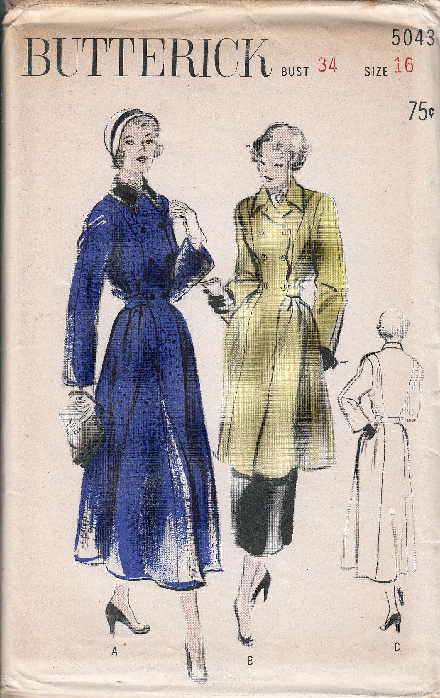 CUT See /& Sew 3323 Sewing Pattern Vintage
