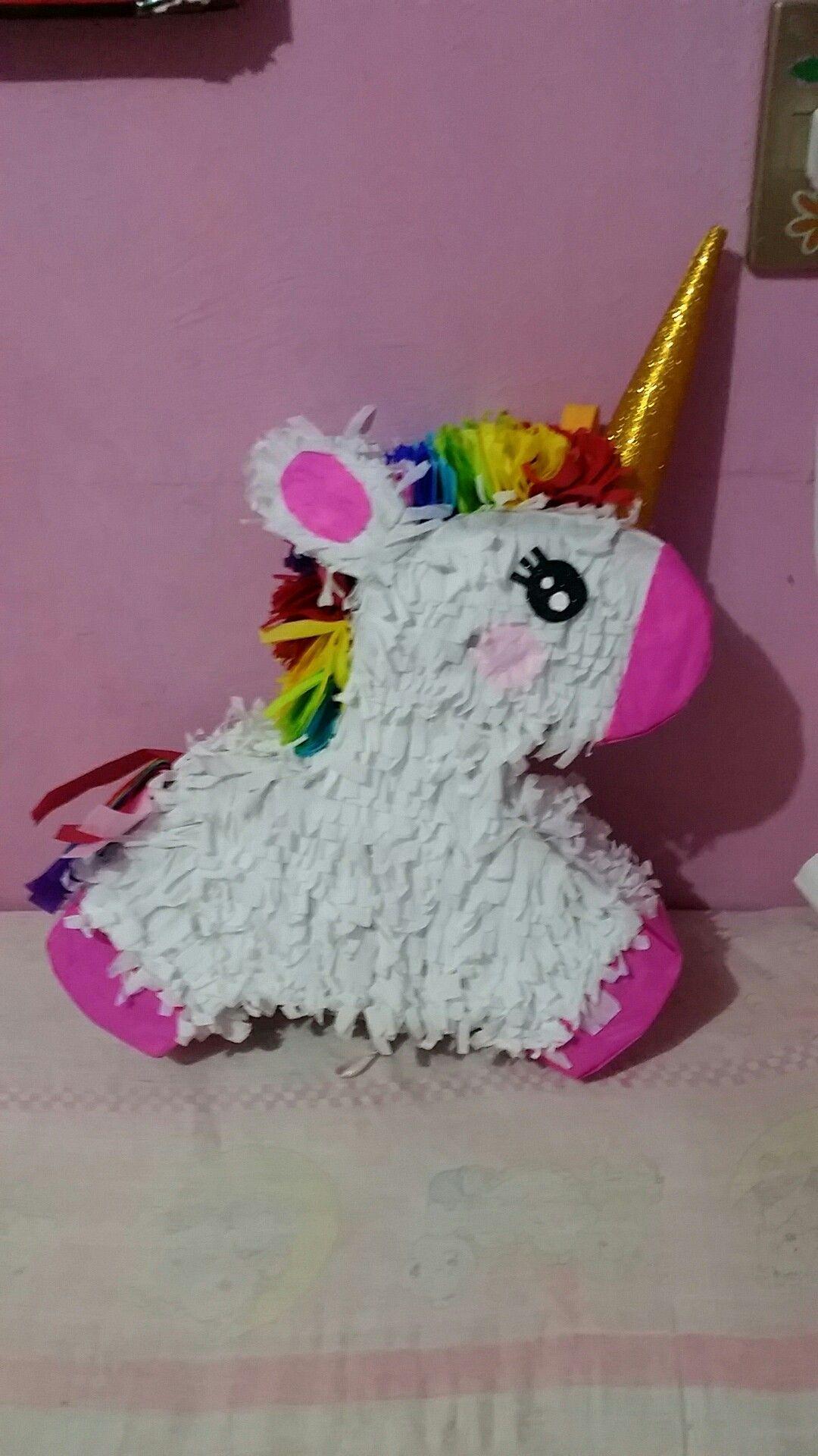 Pi ata de unicornio kawaii cumplea os pinterest pi ata de unicornio pi atas de y pi atas - Pinatas de cumpleanos ...