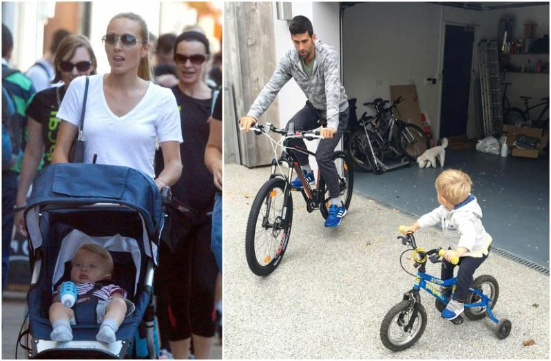 The Support Family Behind Novak Djokovic S Unparalleled Talents Novak Djokovic Celebrity Families Wife And Kids