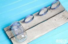 How to Make a Mason Jar Bathroom Organizer images