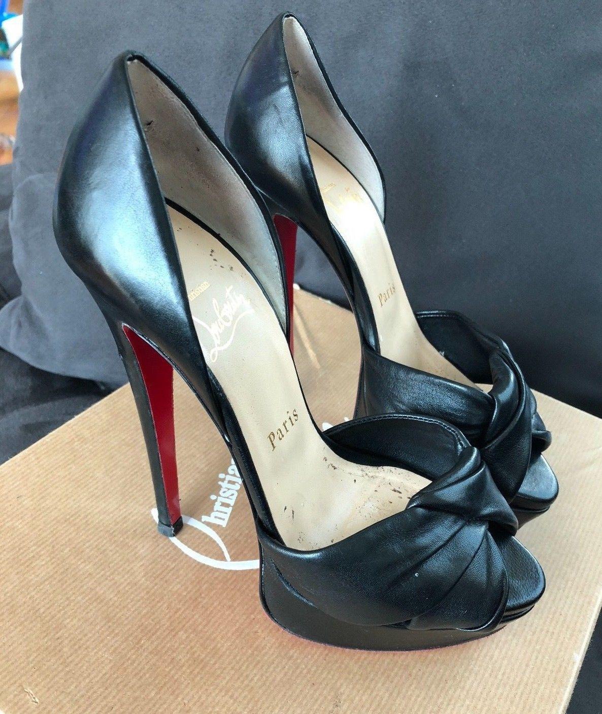 5cacb0ba226 Christian Louboutin Women shoes size 36 stiletto CL yeezy YSL heel red  bottom