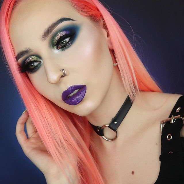 Pin on Palette Based Makeup Look