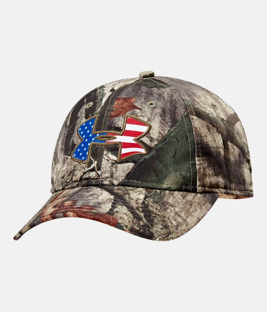 582db0a4d0a Shop Under Armour for Men s UA Big Logo Americana Camo Cap in our Mens  Headwear department. Free shipping is available in US.