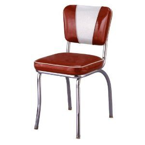 Retro Chrome Diner Chair   Made In USA     Product Description: Our V Back  Chair Is A Commercial Restaurant Chair And Will Also Work In Your 24 Hour  Cafe Or ...
