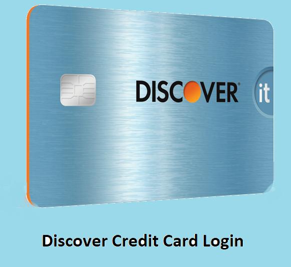Discover Credit Card Login Discover credit card, Credit