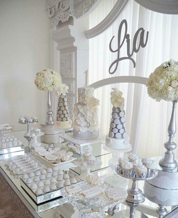 25th Wedding Anniversary Decoration Ideas: Pin By Danna Hernandez On DESERT TABLE IDEAS In 2019
