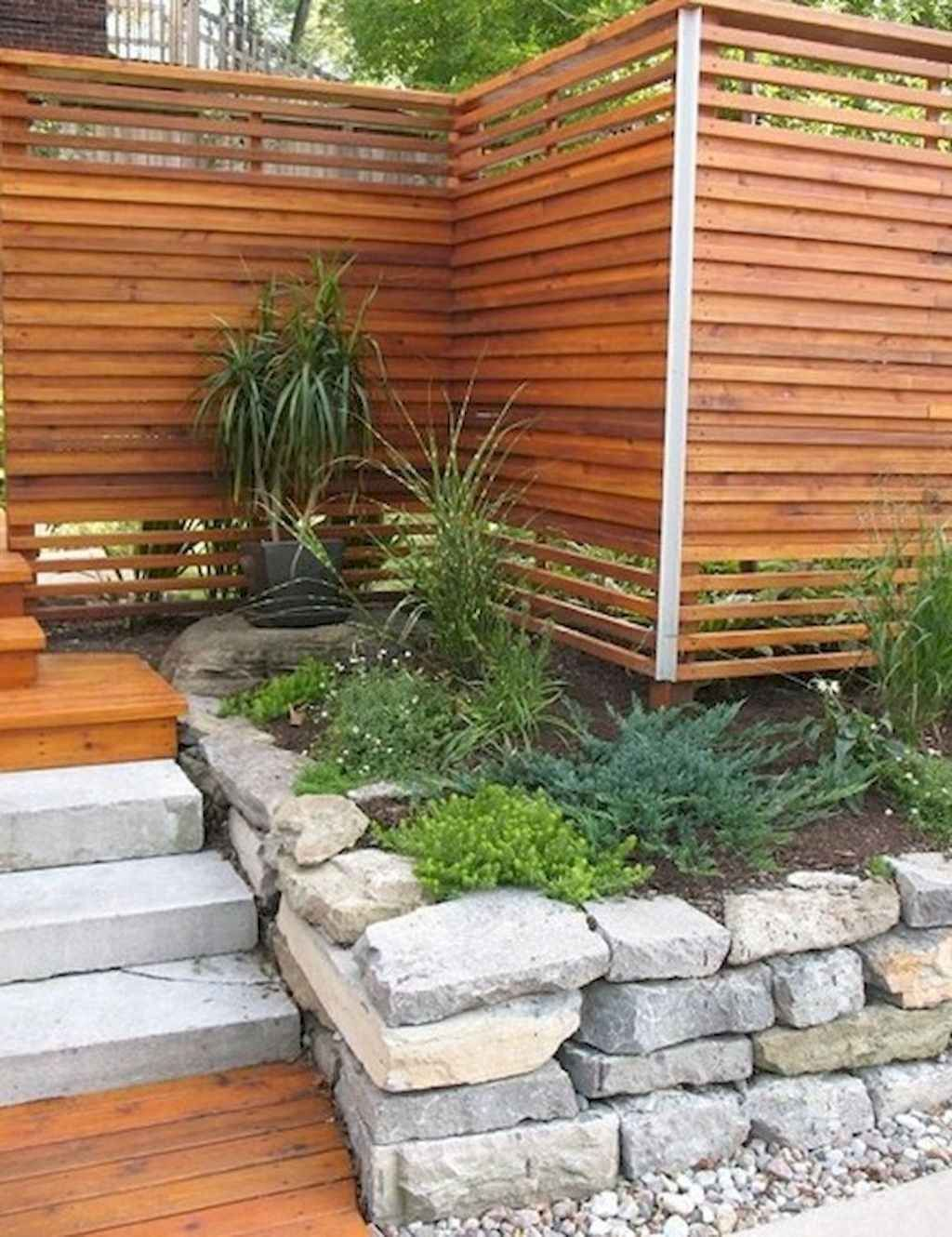 41 Easy and Cheap Privacy Fence Design Ideas in 2020 ...
