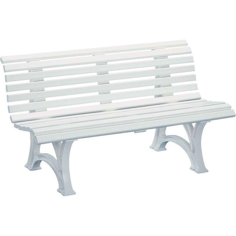 Banc En Resine Neptune 150 Cm Blanc Kettler Dining Bench