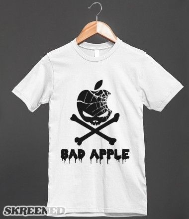 Bad Apple Parody T Shirt Other styles and colors are
