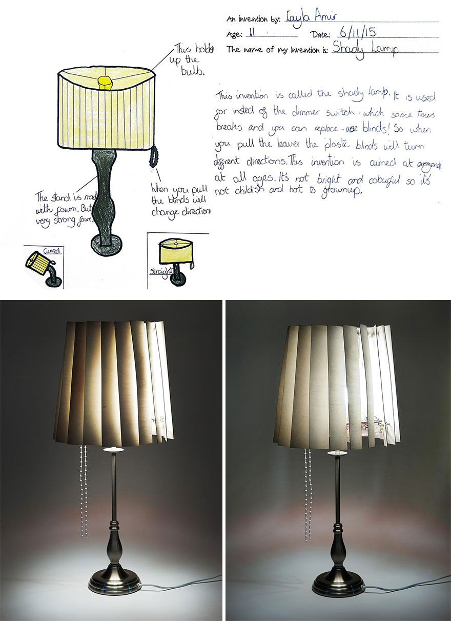 Crazy Kids\' Inventions Turned Into Real Products (15 Pics) | Pinterest