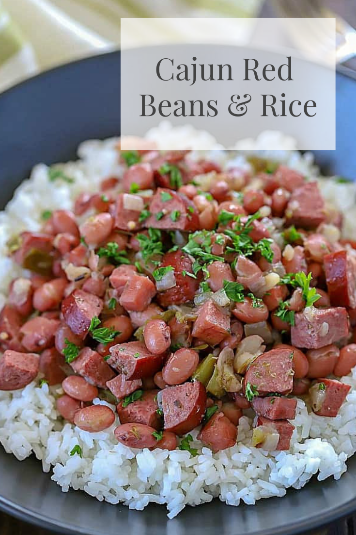 Cajun Red Beans Rice In 2019 Red Beans Vegan Recipes