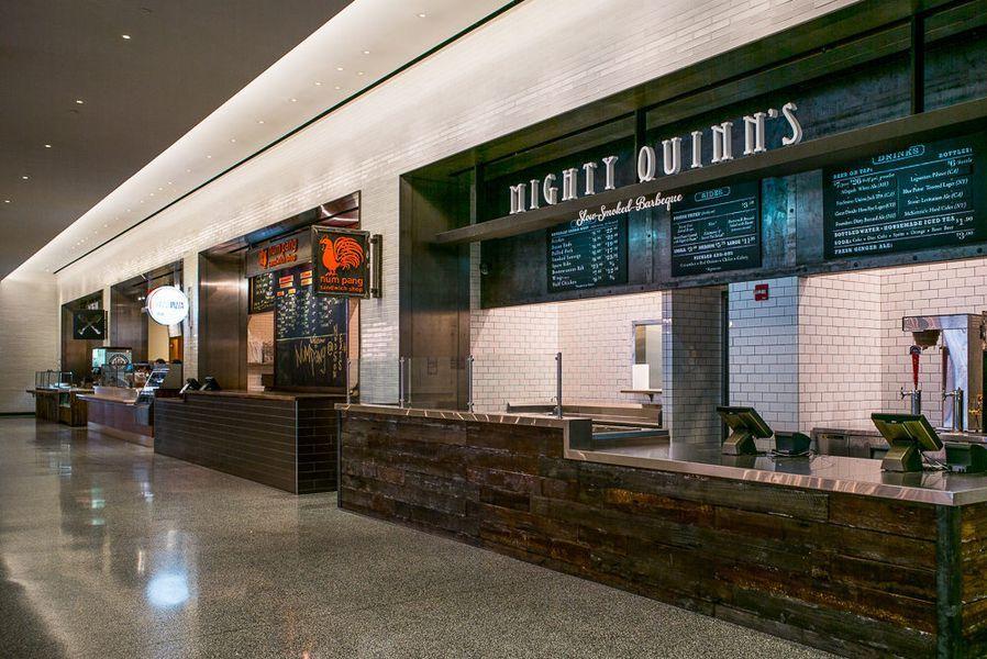 Hudson Eats, the AllStar Food Hall at Brookfield Place