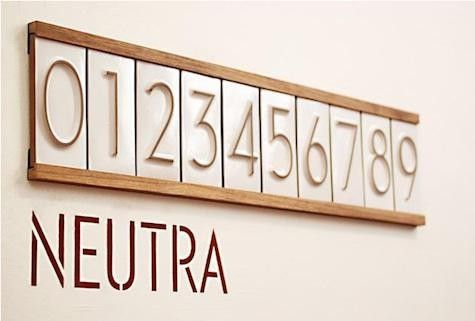 Accessories Neutra House Numbers By Heath Ceramics Remodelista