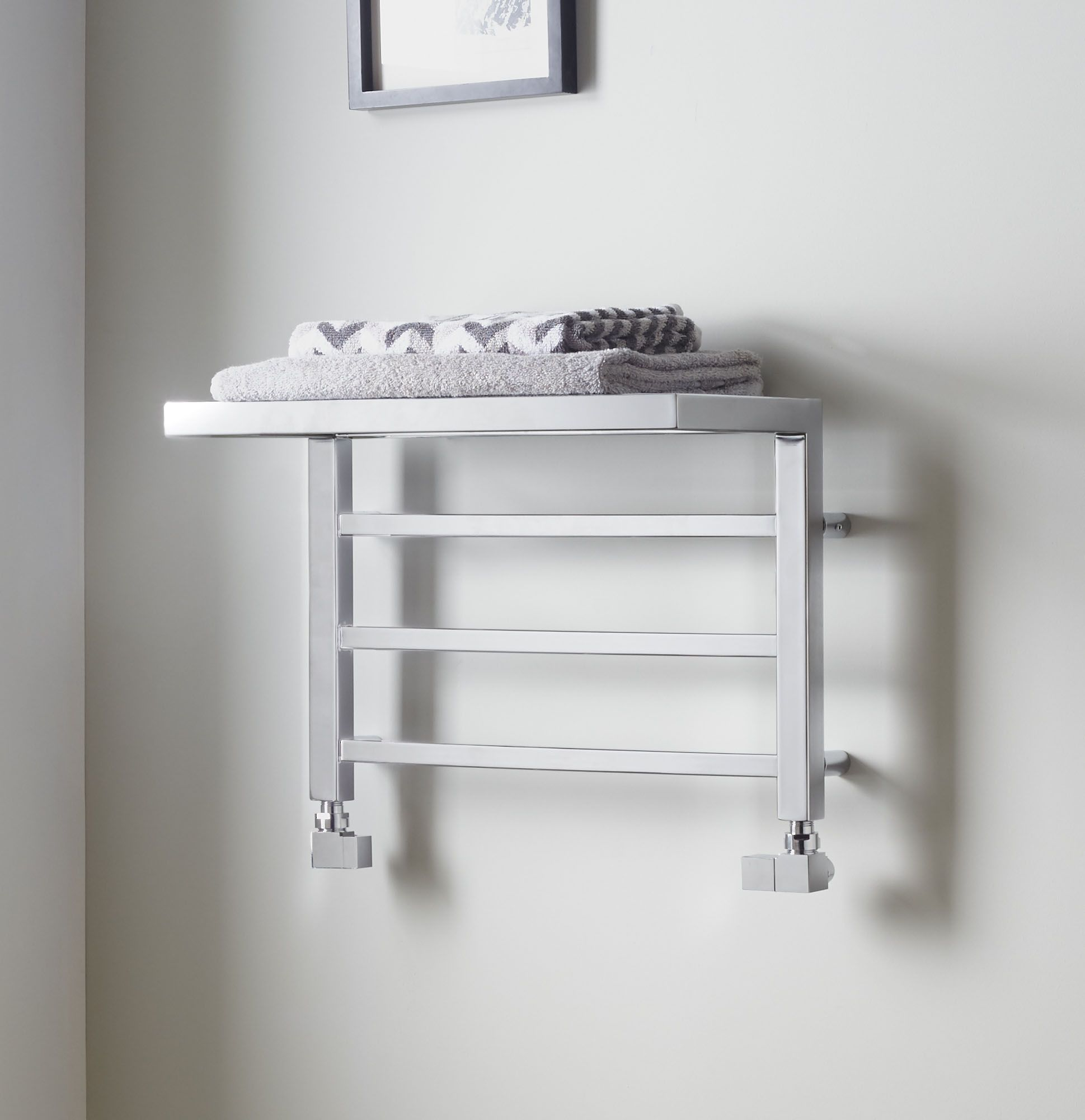 The Towelrads Holyport towel rail is the