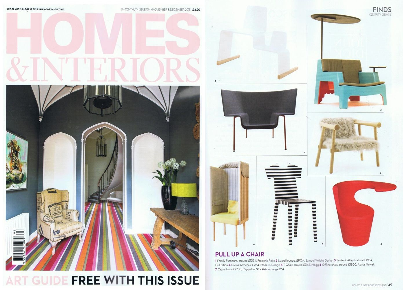 House interiors the  chair by mogg design annebet philips has been featured on homes also rh in pinterest
