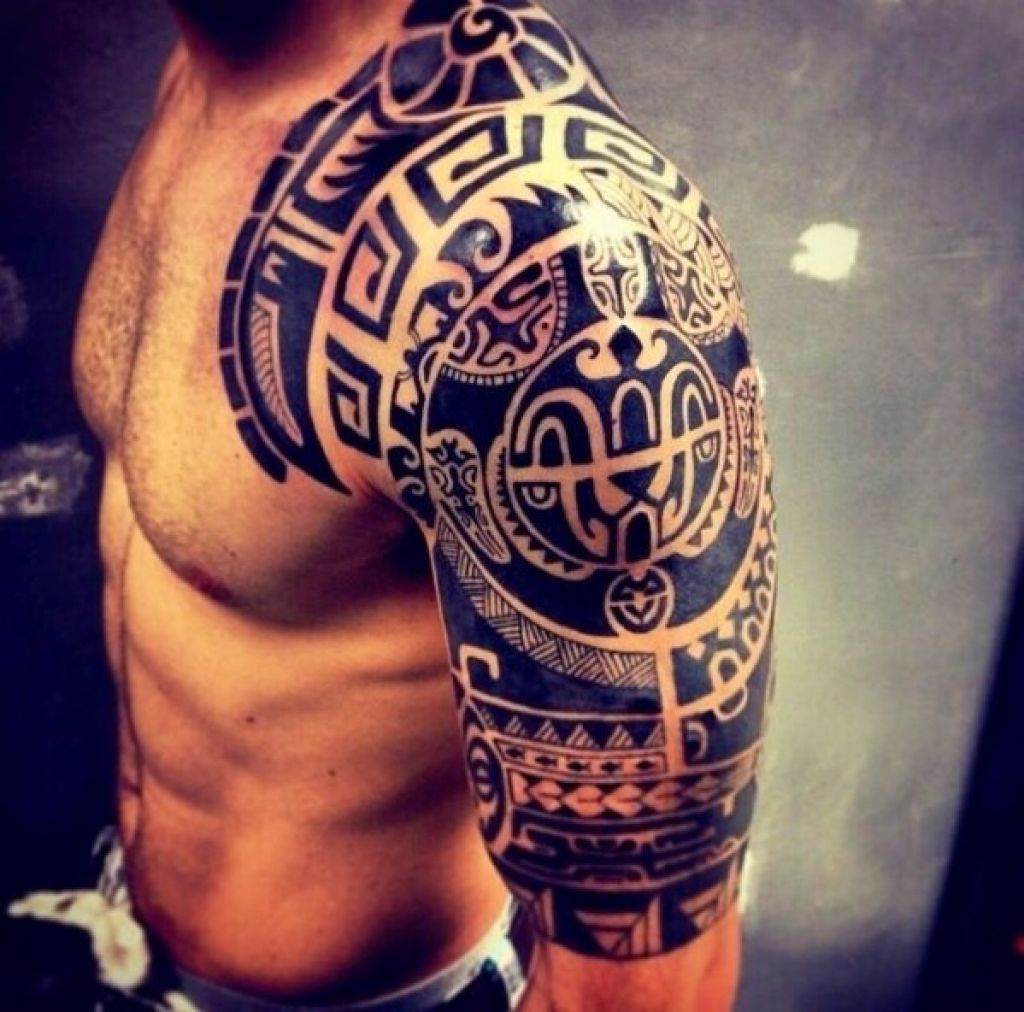 Top 50 Best Shoulder Tattoos For Men Next Luxury with regard to ...
