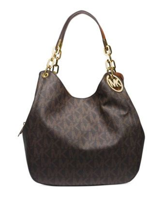 85857a8a08b2 MICHAEL MICHAEL KORS Fulton Large Shoulder Tote In Signature Print ...