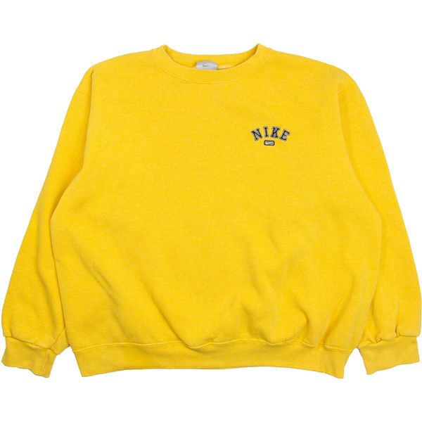 Buy nike sweatshirts yellow   up to 45% Discounts 241dc48f7b68