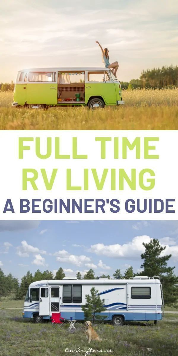 Photo of Full Time RV Living: A Beginner's Guide to Everything You Need to Know