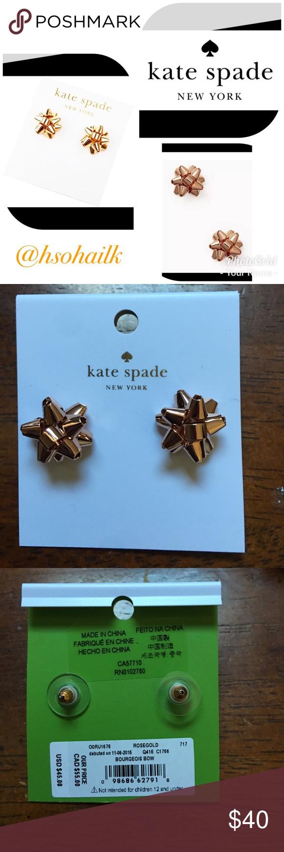 List of Pinterest kante spade jewelry earrings christmas gifts ...