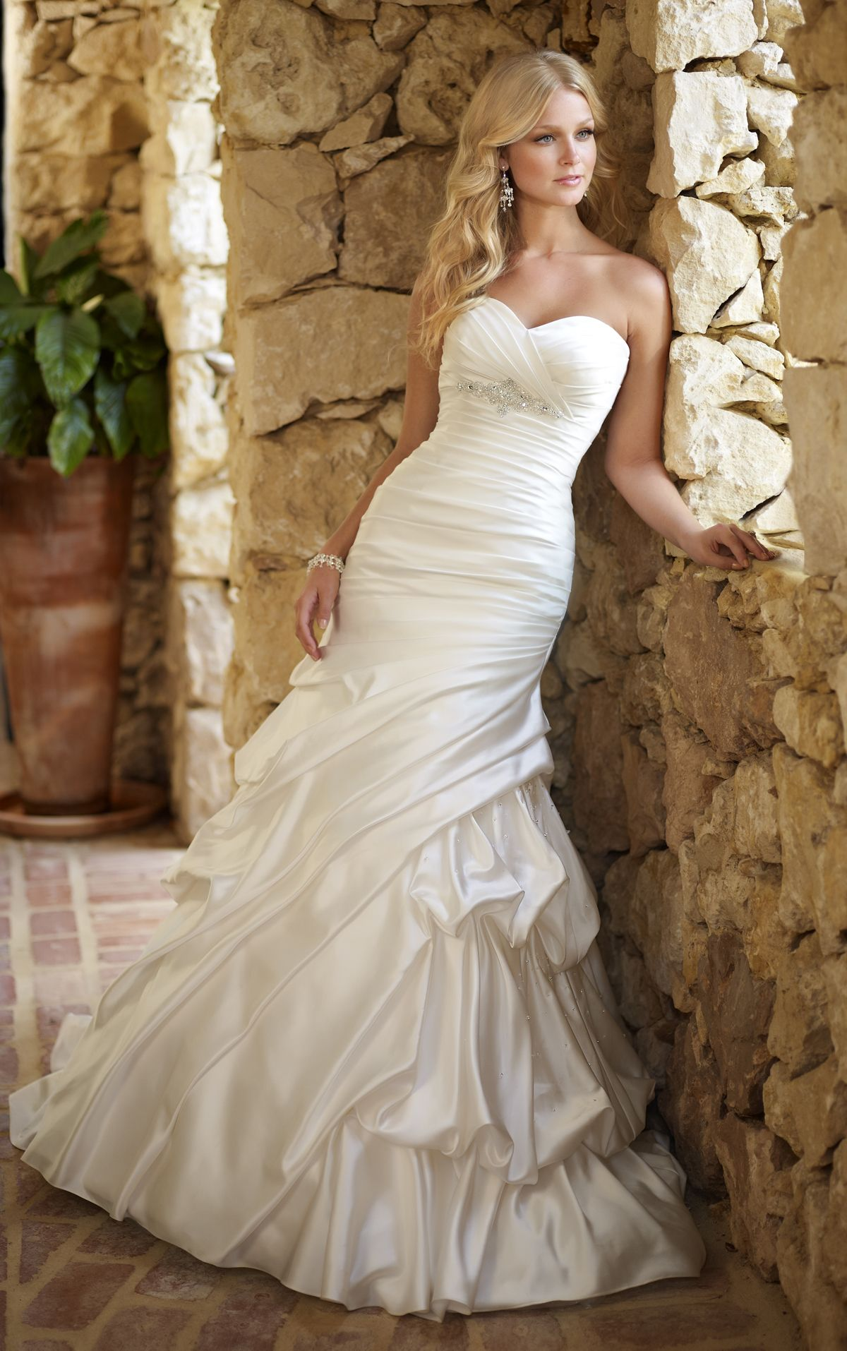 Mermaid dress wedding  Wedding Dress Gallery  Stella York  Pretty Dresses  Pinterest