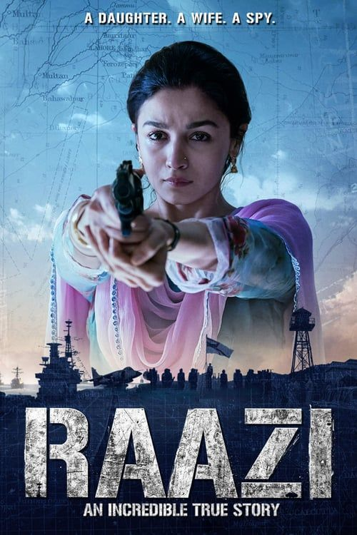 Raazi 2018 Hindi DVDRip 700MB AAC MKV