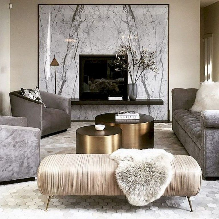 55+ Amazing Modern Minimalist Living Room Inspirations images