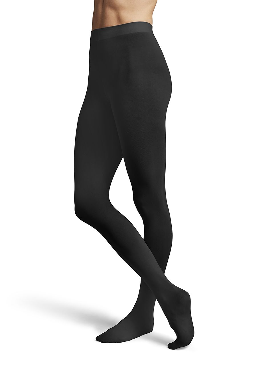 1da94817266a7 Kids and Adult ContourSoft Ballet Dance Tights by Bloch in Black  #T0981G-T0981L