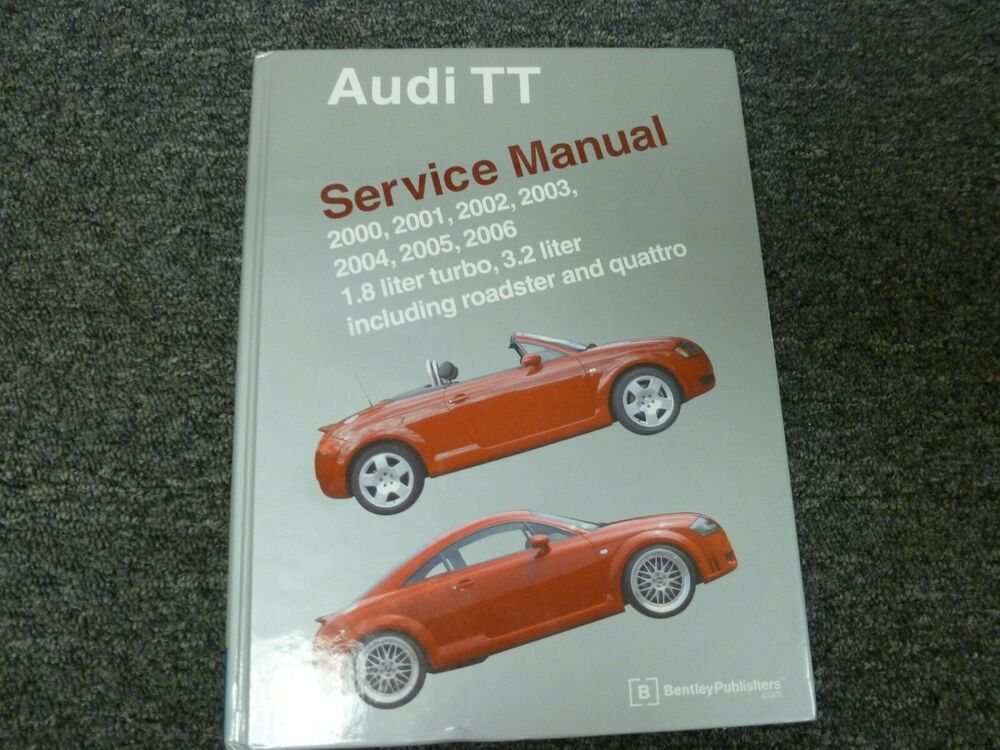 20002003 Audi Tt Quattro Roadster Convertible Service Repair Manual Rhpinterest: 2001 Audi Tt Parts Diagram At Gmaili.net