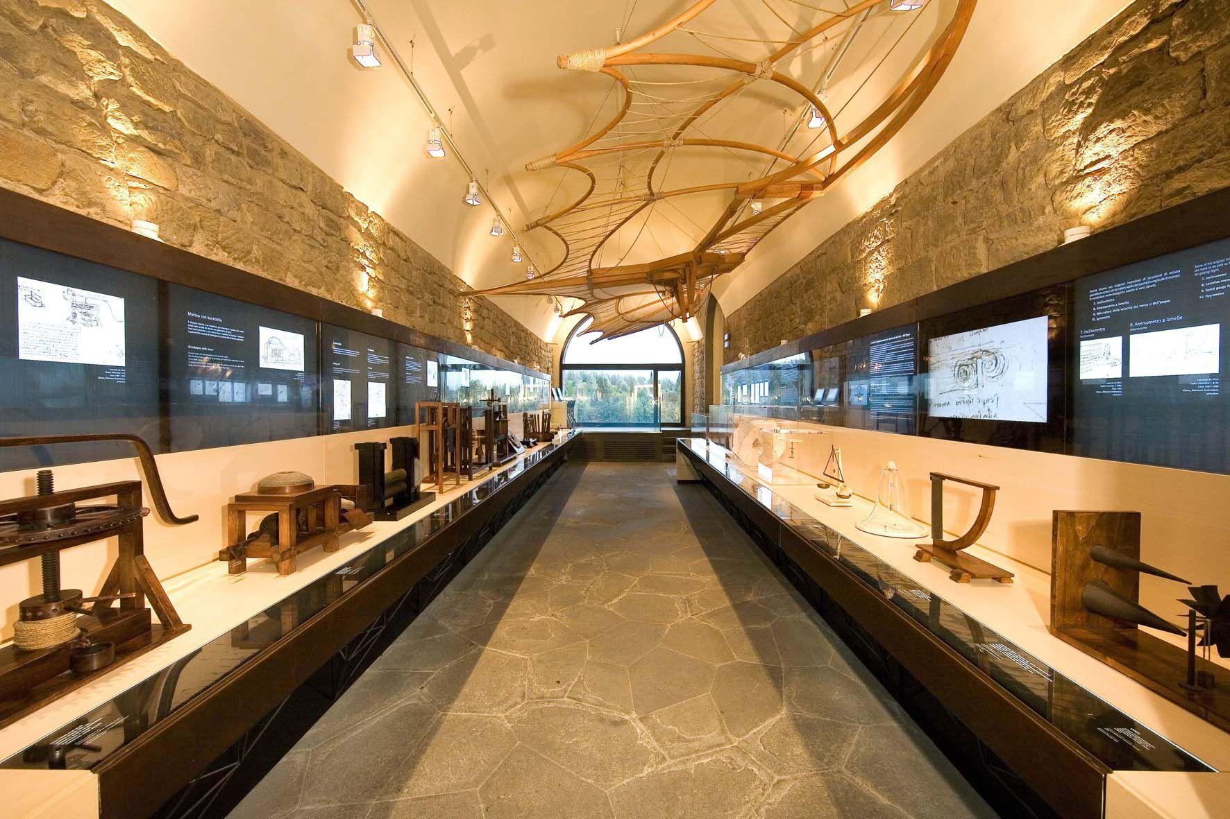 Museo Leonardo Da Vinci Firenze.Museo Leonardiano Palazzina Uzielli E Castello Dei Conti Guidi