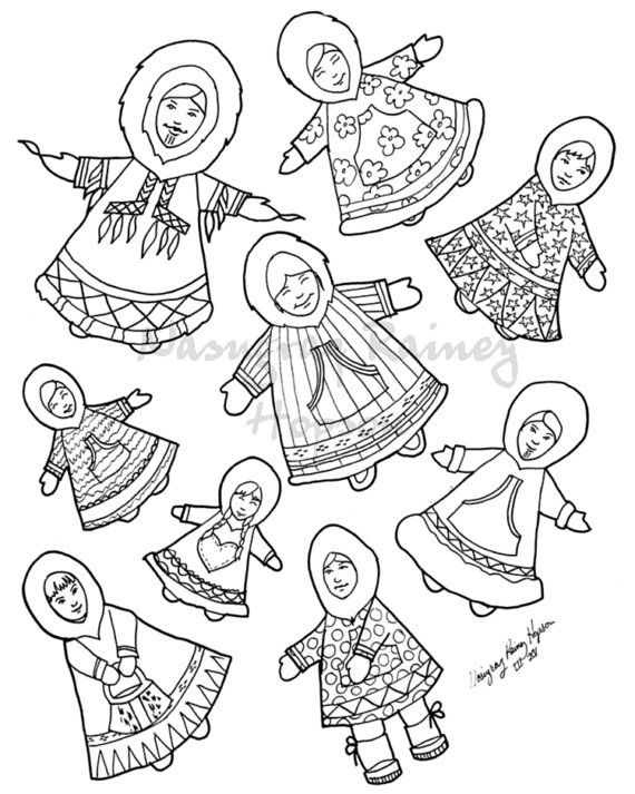 inuit people drawings wwwpixsharkcom images