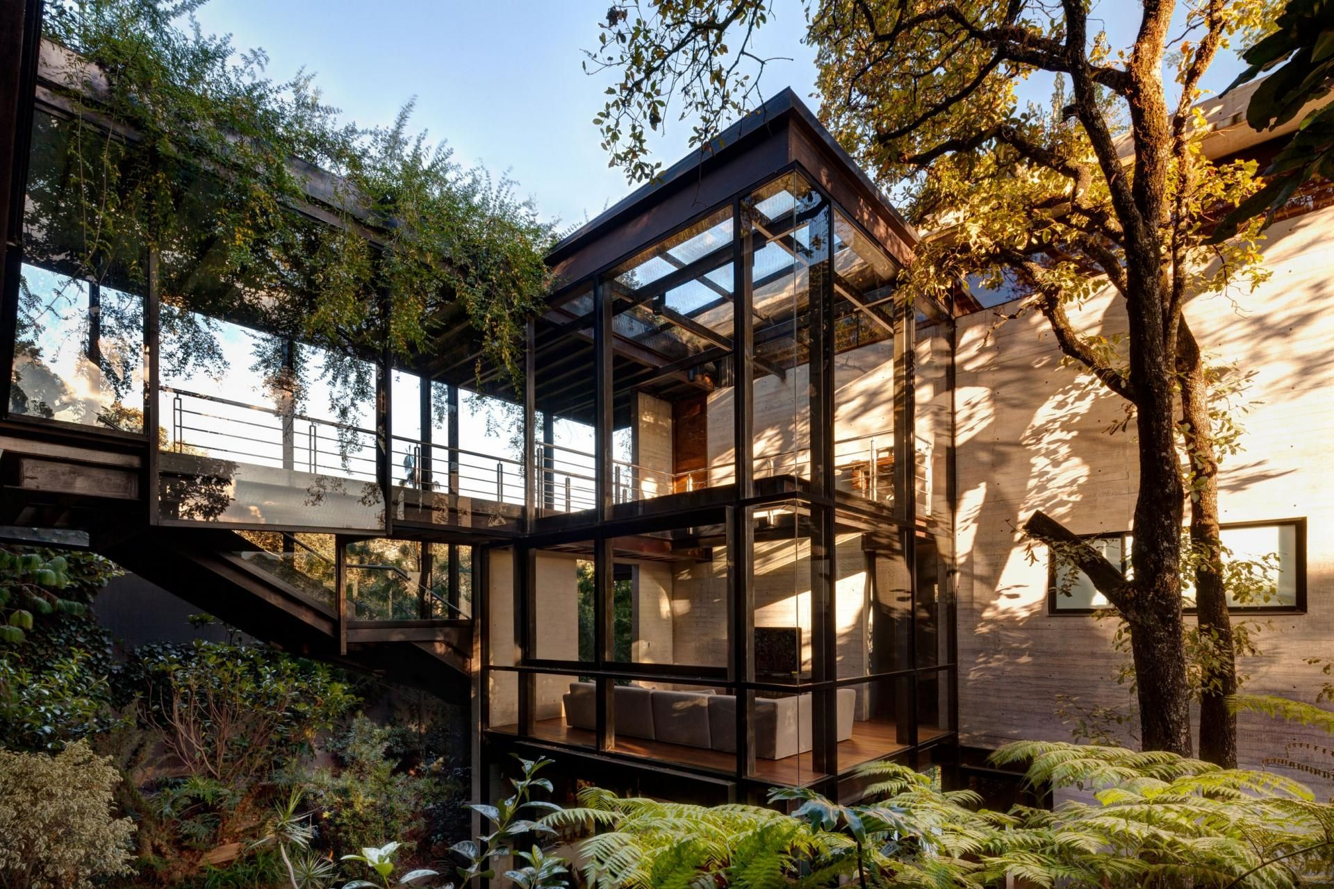 Marvelous Stunning House In The Trees Proves That Modern Design Can Live In Harmony  With Nature. Green HomesGreen ...