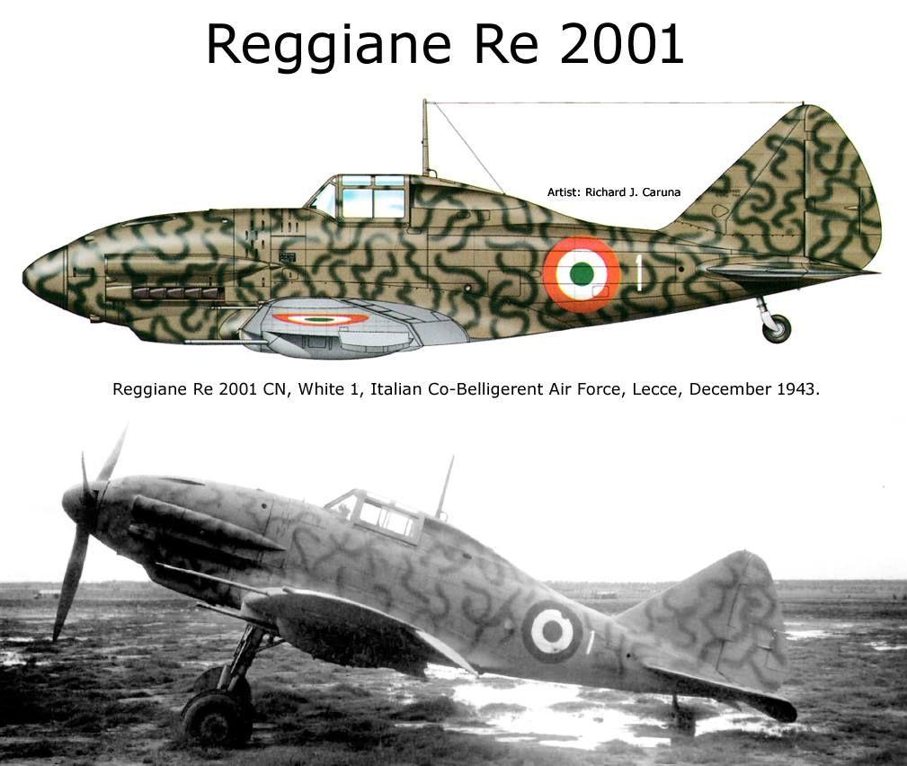 Reggiane Re.2002 Ariete | Planes - Reggiane Re.2002 Ariete ...