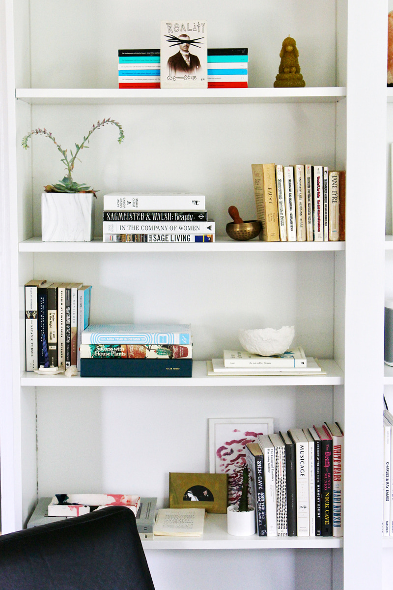 This Ikea Billy Bookcase Hack Makes Them Look Like Custom Built Ins Ikea Billy Bookcase Ikea Billy Bookcase Hack Billy Bookcase