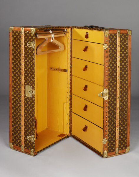 Louis Vuitton Wardrobe Trunk Circa 1920 Louis Vuitton Trunk Louis Vuitton Luggage Louis Vuitton Travel