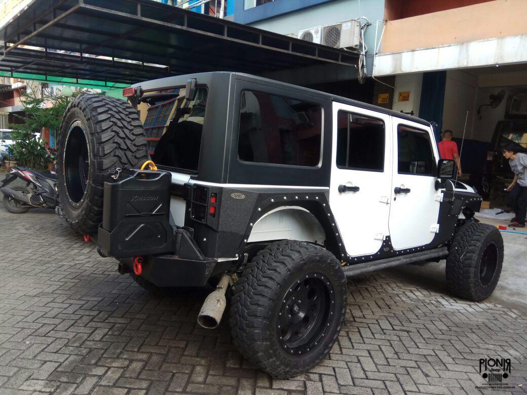 Jual Body Armor Smittybilt Original Untuk Jeep Jk Wrangler