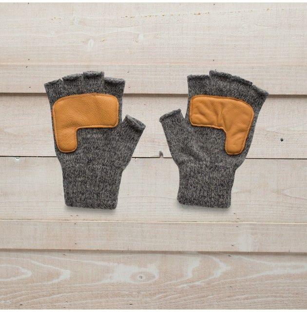 Men's Adirondack Ragg Wool Fingerless Gloves - Men's Hats, Gloves, Scarves, Ties & Socks