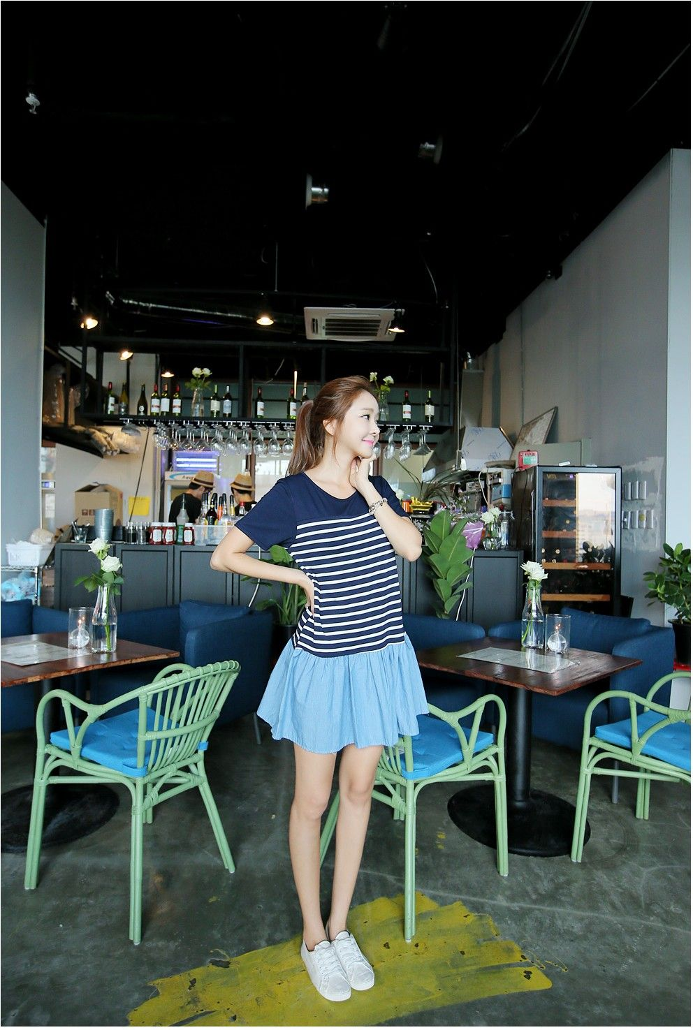 Momoco dress korean fashion kooding style clothes