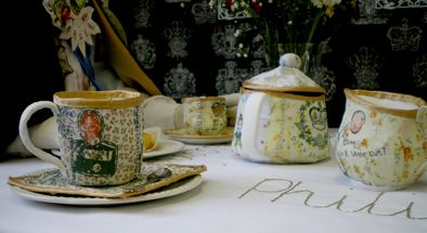 Enjoying Royal-Tea - Faye Power
