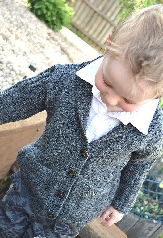 Cardigans for Children Knitting Patterns | Jacken, Stricken und Kind