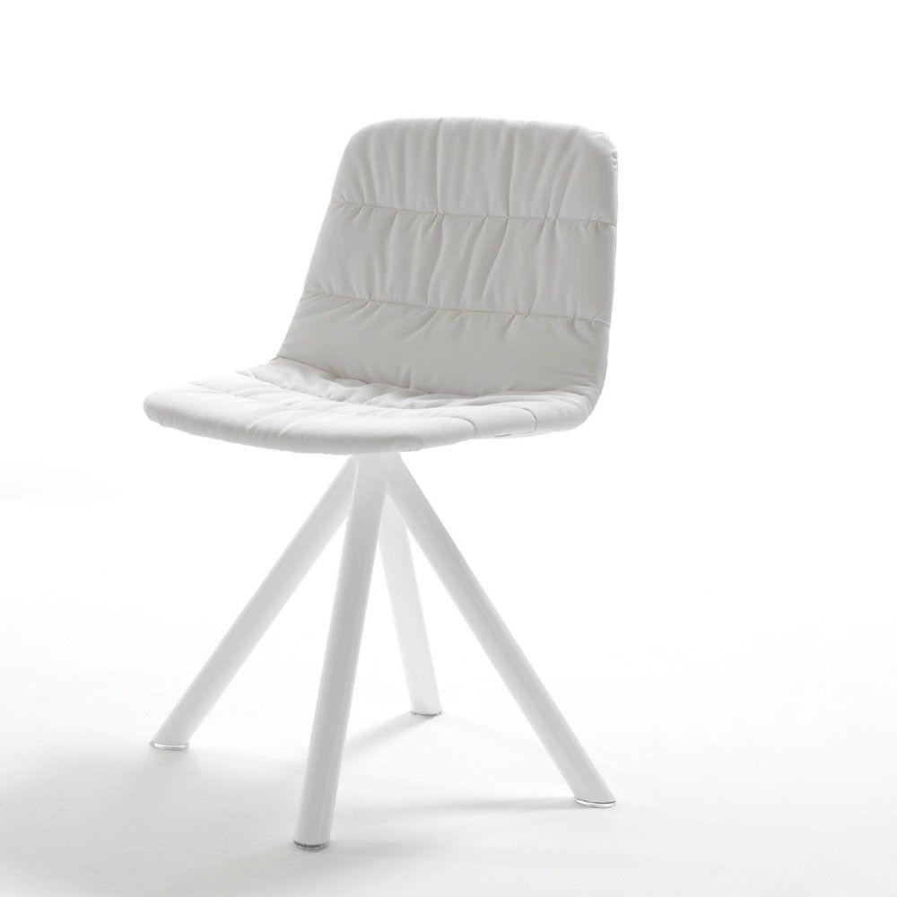 Silla Maarten Base Cuatro Patas Soft Viccarbe Chair