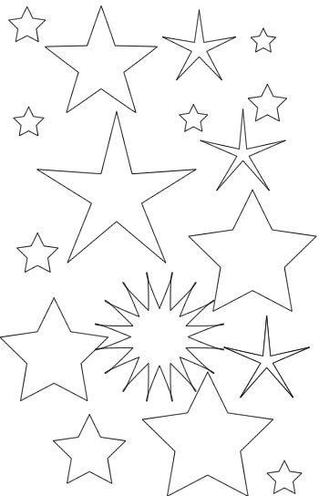 Coloriage étoile à Colorier Dessin à Imprimer Idées