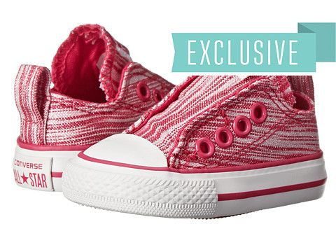 b51aadc47a3f Converse Kids Ctas Slip (Infant Toddler) Cosmos Pink - Zappos.com Free