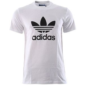 Branded T-Shirt - Adidas logo in front in white color