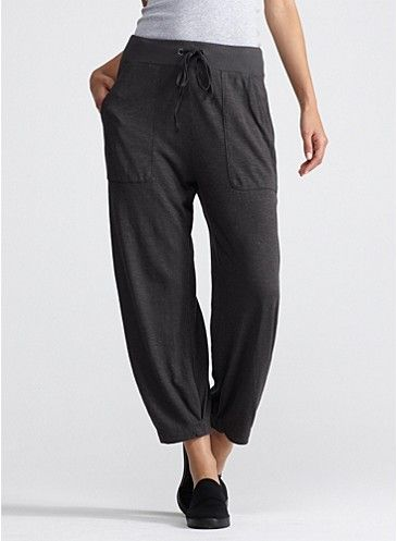 8a32457ca9 slouchy cropped pant in organic cotton hemp twist