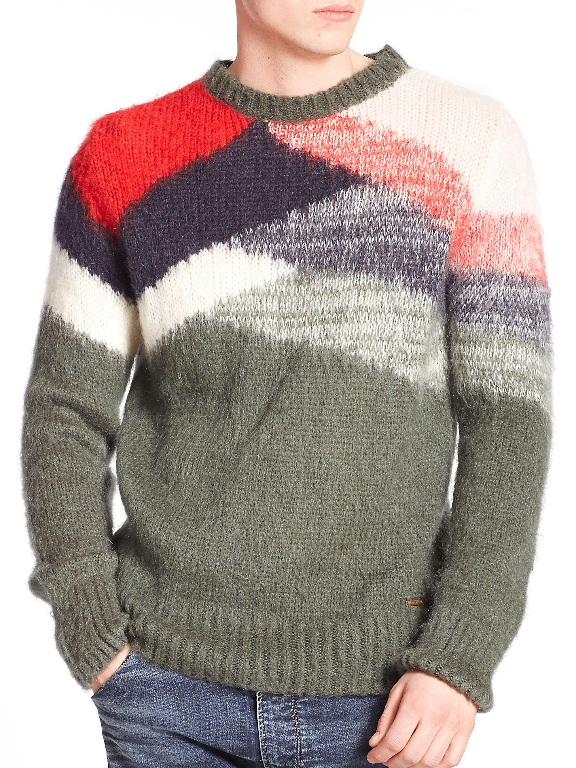 Diesel Milita Mohair Knit Sweater