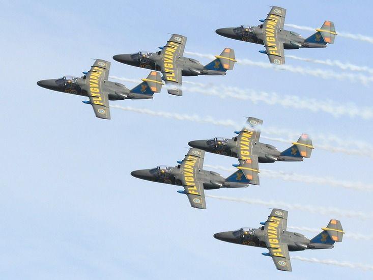 Team 60 Swedish Air Force