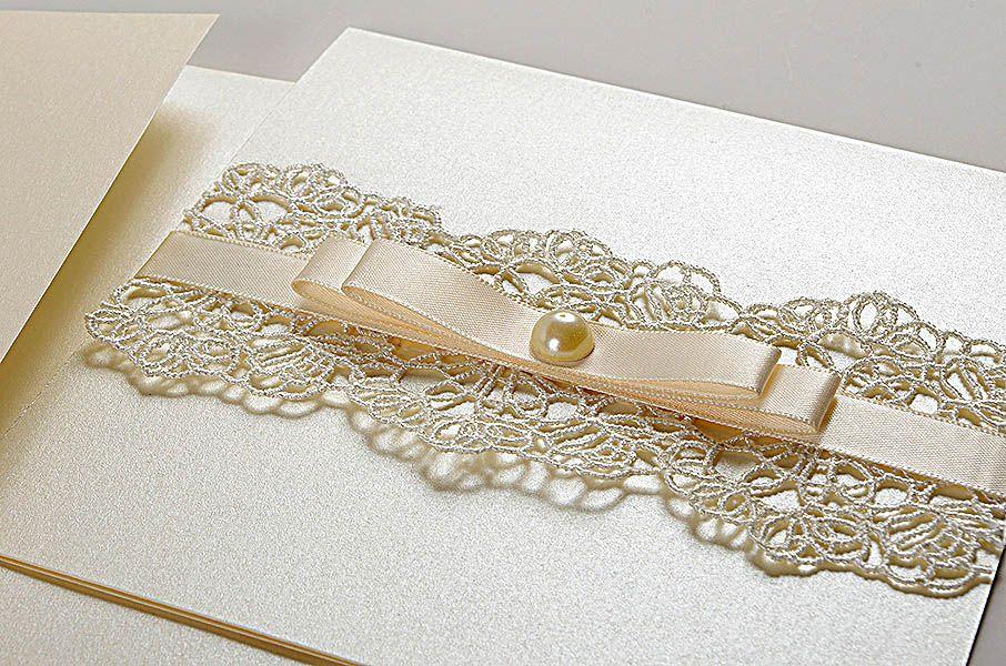 Vintage Lace Wedding Invitations UK - Sophie Eve - Polina Perri ...